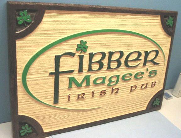 Business Signs Fibber Magees