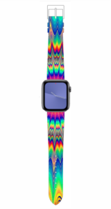 Custom Apple WATCH Band Tye-Dye Design #2 38mm
