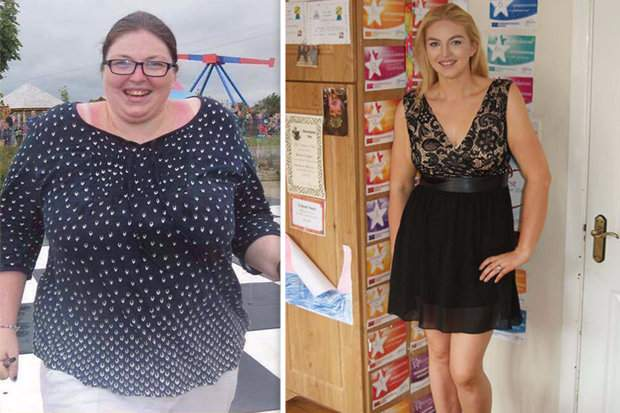 This amazing woman sheds 7.5st by cutting out ONE thing from diet