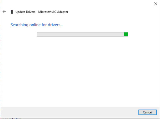 search online for drivers