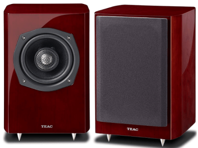 TEAC S-300HR Coaxial 2-Way Bookshelf Speakers (Cherry)