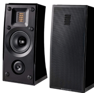 MartinLogan Motion 4i Bookshelf Speaker, Pair (Gloss Black)