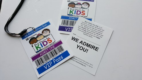 Every kid is a VIP to us!