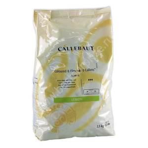 Зеленый шоколад со вкусом лимона Barry Callebaut 2.5 кгЗеленый шоколад со вкусом лимона Barry Callebaut 2.5 кг