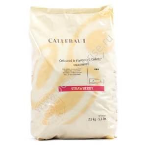 Розовый шоколад со вкусом клубники Barry Callebaut 2.5 кг