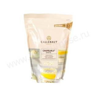 Белые жемчужины Crispearls Barry Callebaut 800 грамм