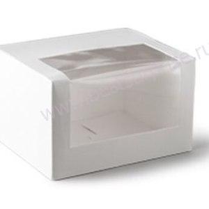 Упаковка для торта с большим окном