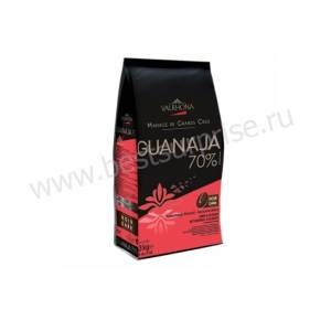 Шоколад (кувертюр) горький Guanaja 70%, Valrhona