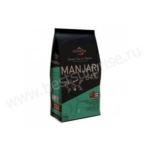 Шоколад горький Manjari 64%, Valrhona