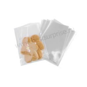 Пакеты для куличей и пряников 150х285 мм. прозрачные, 10 шт.