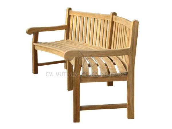 Big Classic Bench Curved