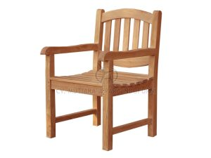 Oval Arm Chair