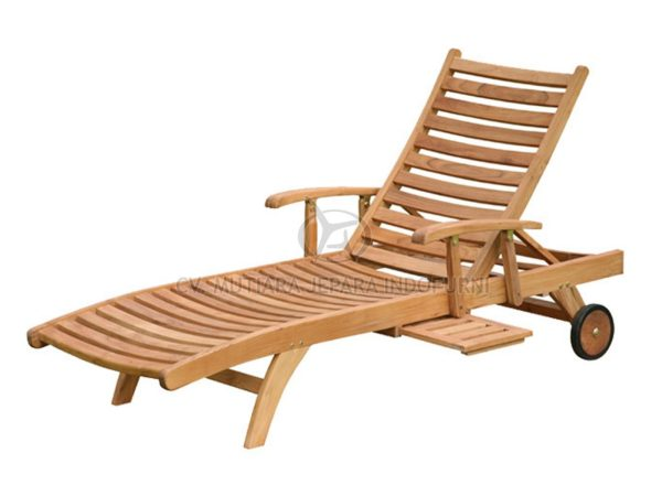 Harrison Sun Lounger With Arm