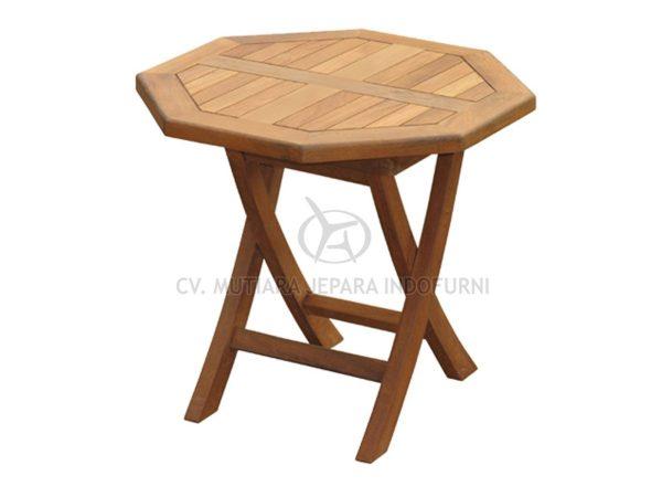 Octagonal Folding Coffee Table