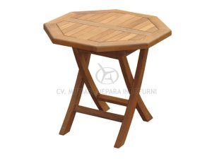 Octagonal Folding Coffee Table Indonesia Outdoor Furniture Manufacturer