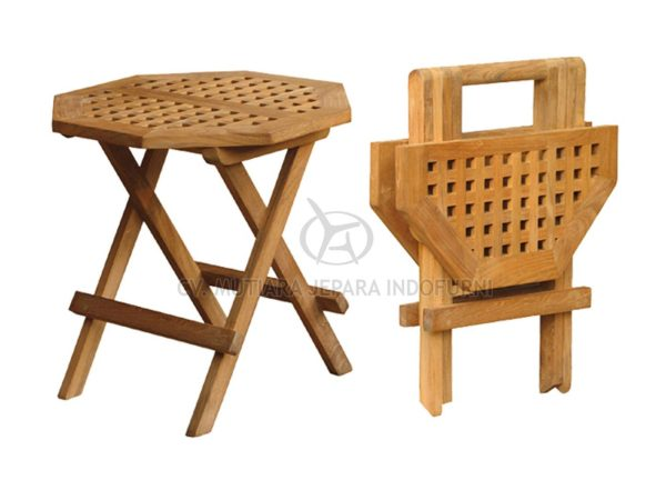 Octagonal Picnic Table 50CM With Hole