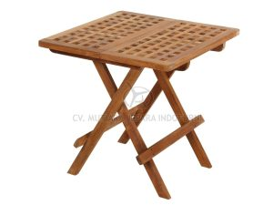 Square Picnic Table 50CM With Hole