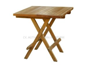 Square Picnic Table 50CM With Slat