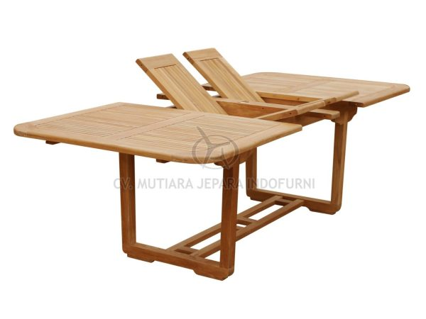 Indonesia Furniture manufacturer teak garden | Umbra Double Extend Table