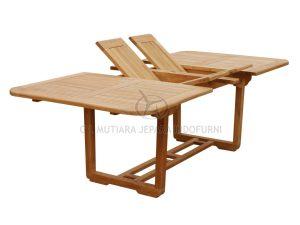 Indonesia Furniture manufacturer teak garden | Umbra Double Extend Table