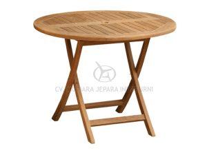 Round Folding Table 80CM