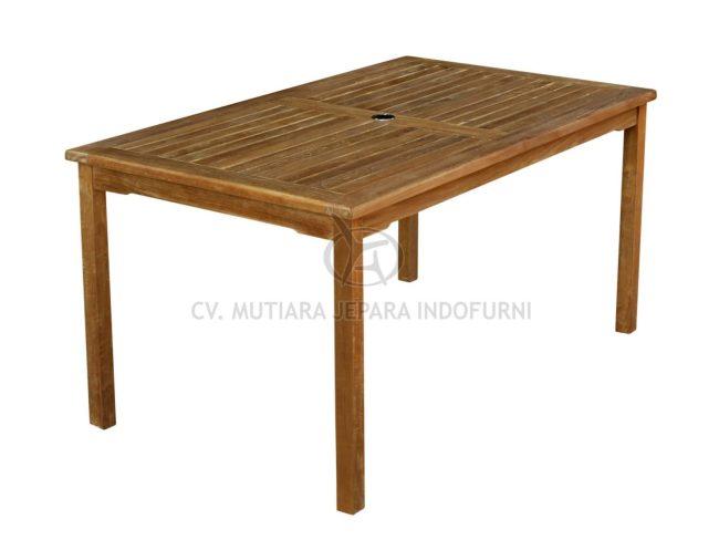 indonesia teak furniture manufacturer   rectangular table