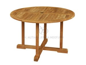 Indonesia Furniture, Round Fixed Table