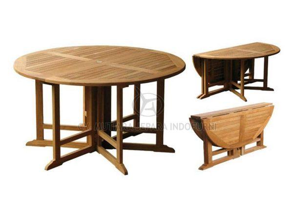 Round 6 Gateleg Table