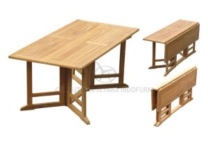 Rectangular Gateleg Table Indonesia Furniture