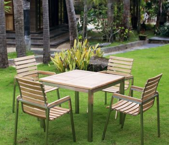 Stackable Victoria Dining Set - Indonesia Teak Garden and Outdoor FurnitureFurniture