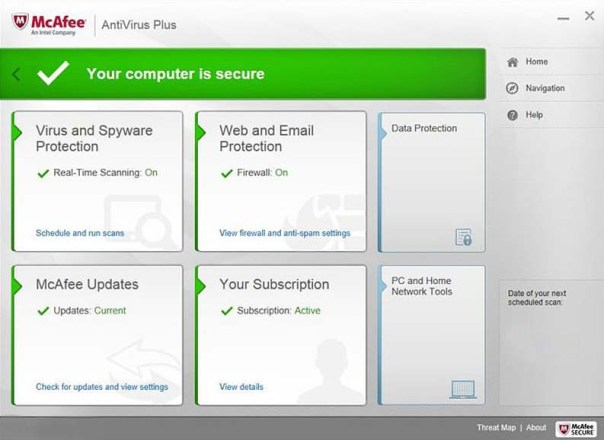 McAfee Antivirus Plus 2017 Free 6 Months Subscription 180 Days