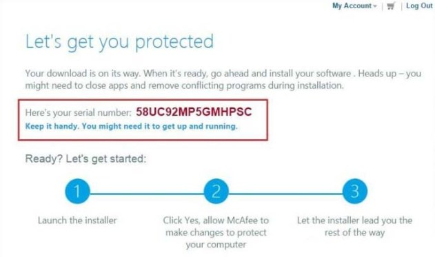McAfee Activation Code for Antivirus Plus 2019 Free 6 Months