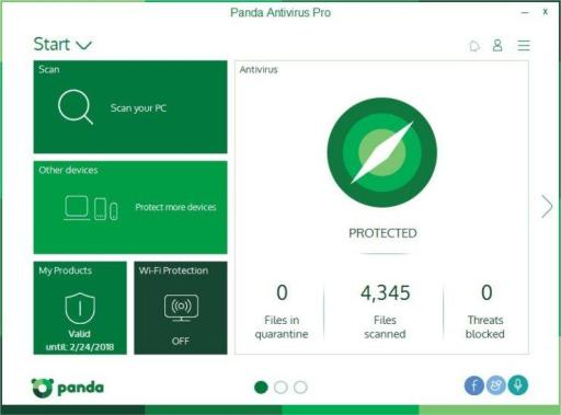 Panda Antivirus Pro 2017 Activation Code Free