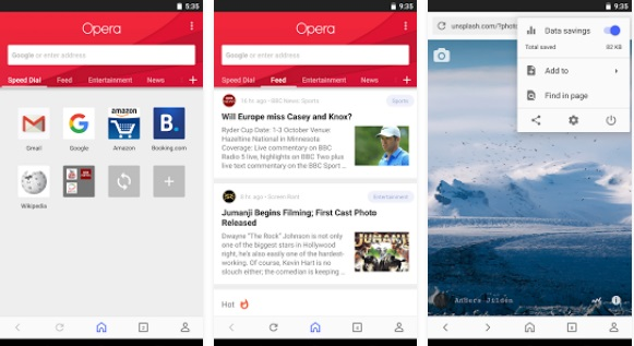 Best Browser Apps for Android 2018