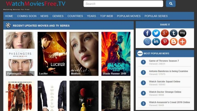 Best Free Movie Streaming Sites Watch Film Online