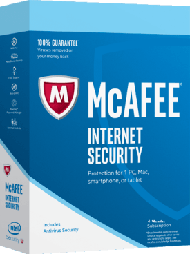 Mcafee Internet Security Free Download for 6 Months Subscription - 180Days