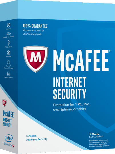 Mcafee Internet Security Free 6 Months Subscription - 180Days