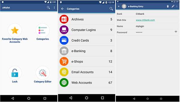 Free Best Password Manager for Android
