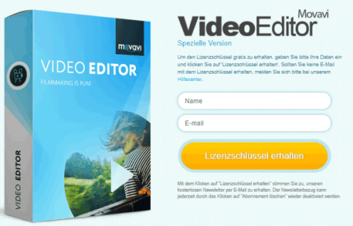 Movavi Video Editor 14 License Key 2019