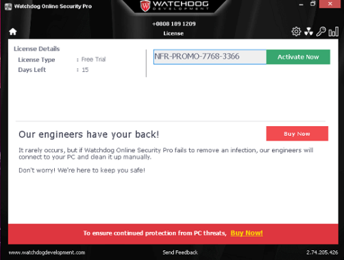 Watchdog Online Security Pro 2020 Serial Key
