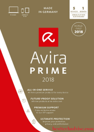 Avira Prime 2021 Free License Key for 3 Months Download