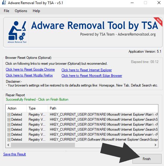 Remove Adware Malware