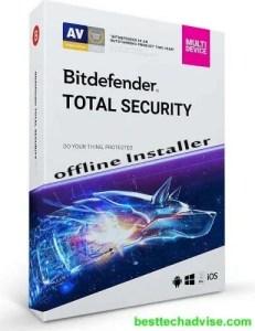 Bitdefender Total Security 2020 Offline Installer Download for Windows