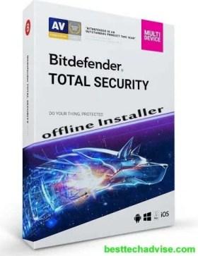 Bitdefender Total Security Offline Installer 2021 Download for Windows