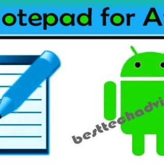 Best Notepad Apps for Android Free Download 2019