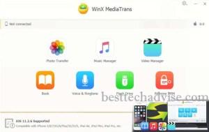 WinX MediaTrans License Code Free iPhone File Transfer to PC