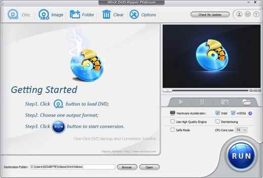 WinX DVD Ripper Platinum License Code V8.22 Free Download