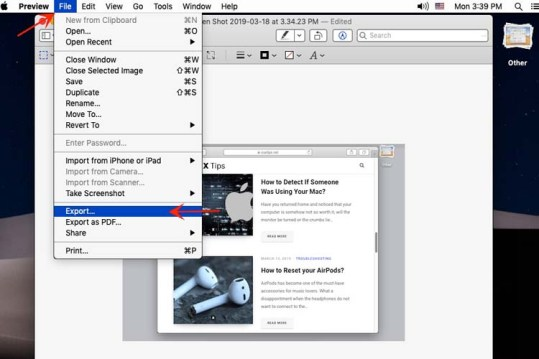 How to Convert Image to PNG, JPG, GIF, BMP, TIFF on a Mac