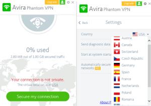 Avira Phantom VPN Pro Free Download