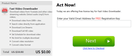 Fast Video Downloader License Key Free for 1 Year
